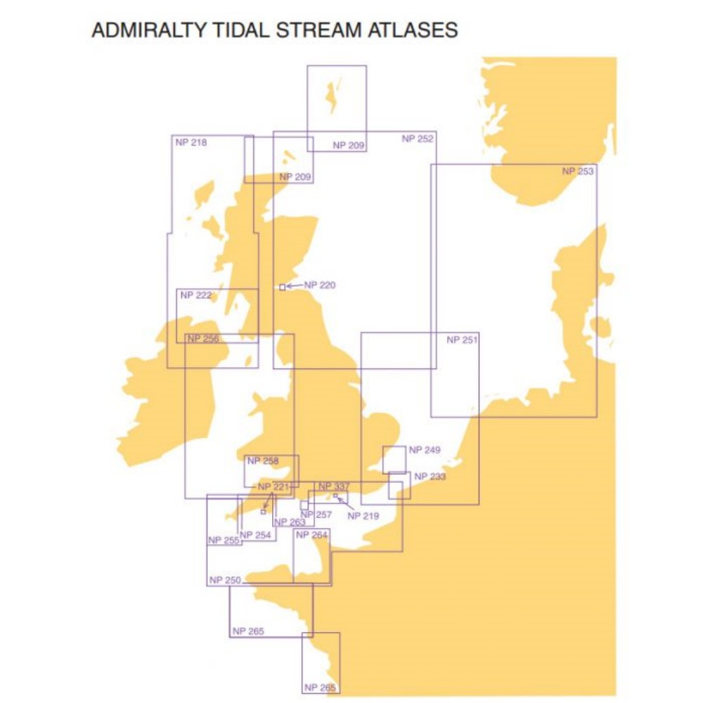 Tidal Stream Atlas NP251 - North Sea Southern Part