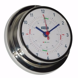 Stainless Steel Clock 130mm