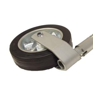 Heavy Duty Jockey Wheel - 48mm Ribbed Tube