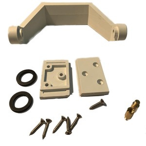 Offshore 105 White Bracket Kit