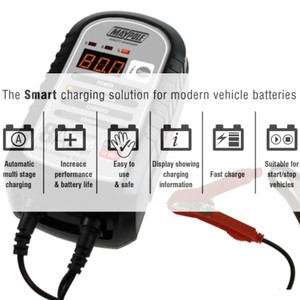 8A Smart Battery Charger