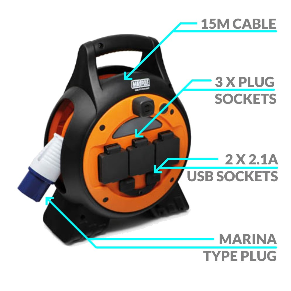 Portable Shore Power Unit 15m Cable
