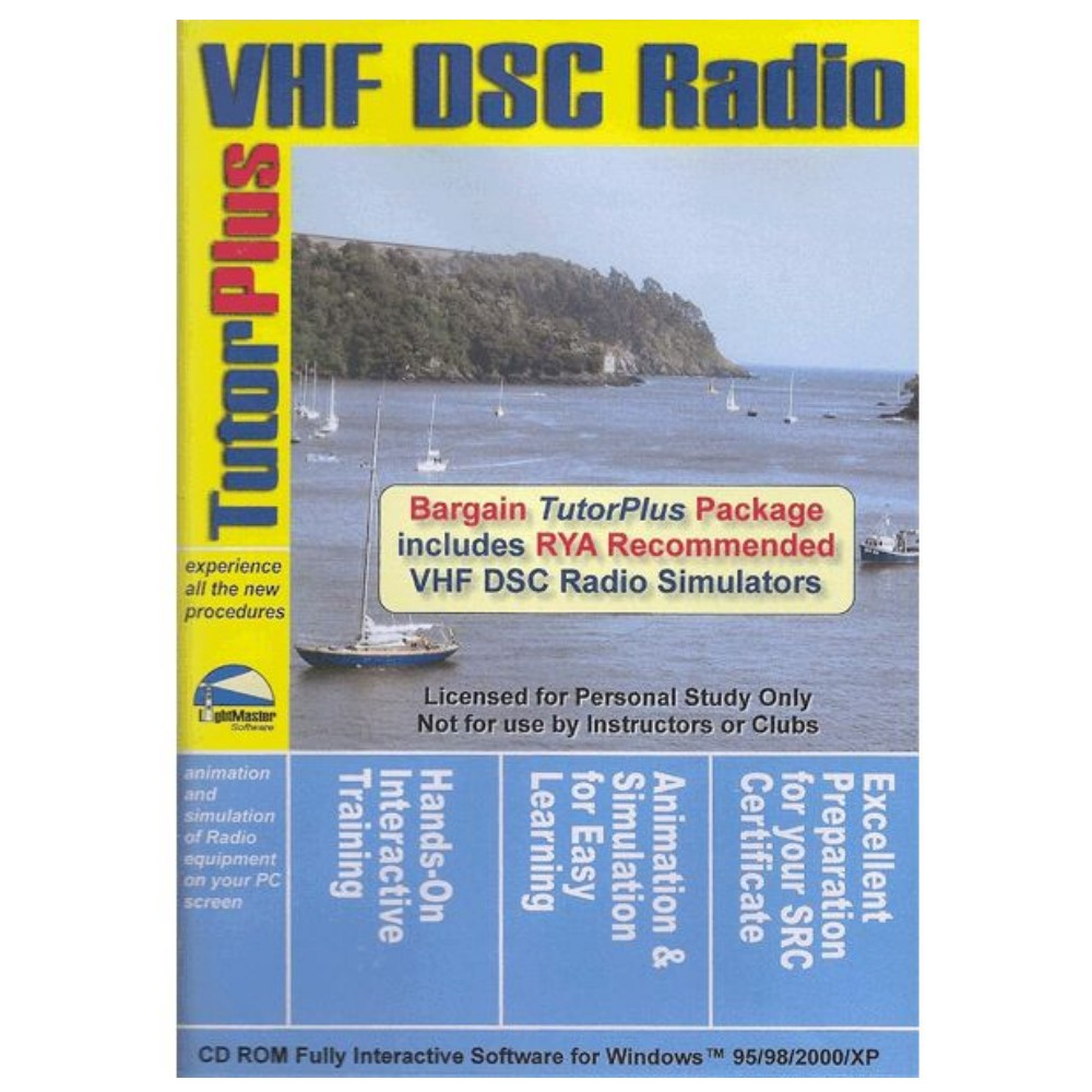 VHF DSC Radio Tutor CD