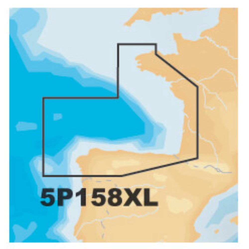 Platinum+ XL Chart • 5P158XL Bay of Biscay / Spain
