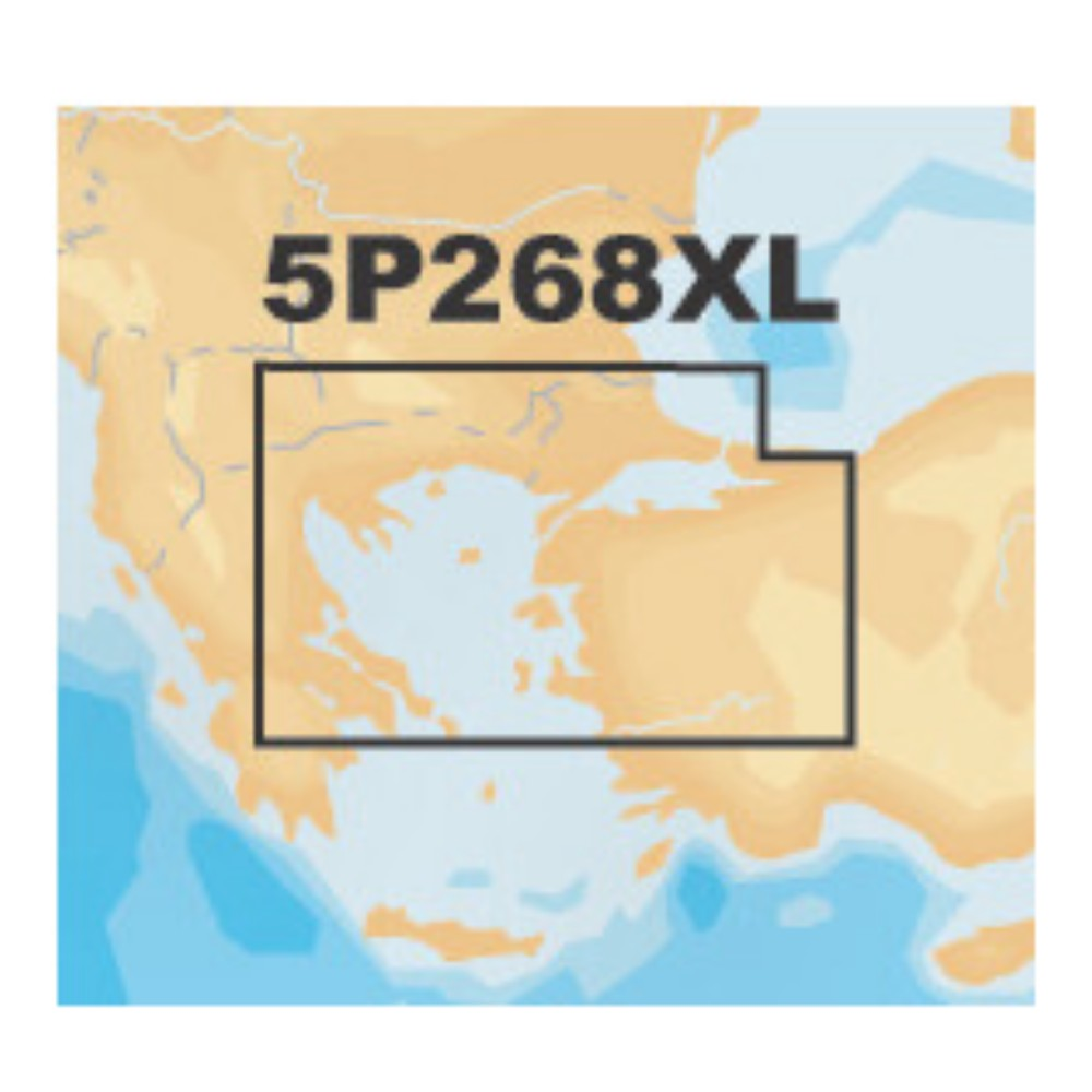 Platinum+ XL Chart • 5P268XL North Aegean Sea