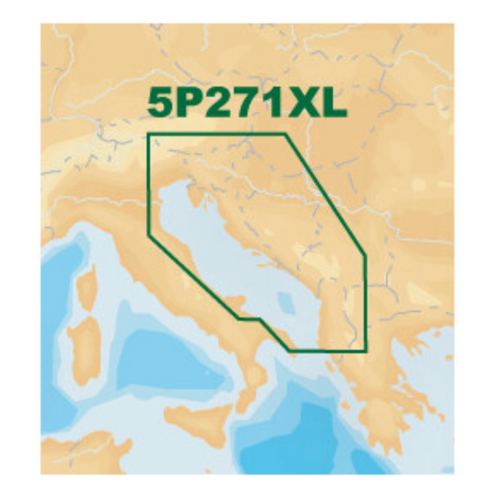 Platinum+ XL Chart • 5P271XL Adriatic Sea