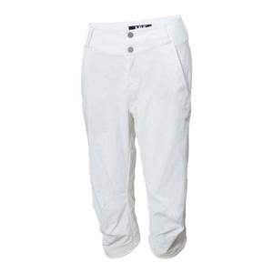 Quick Dry Capri - White