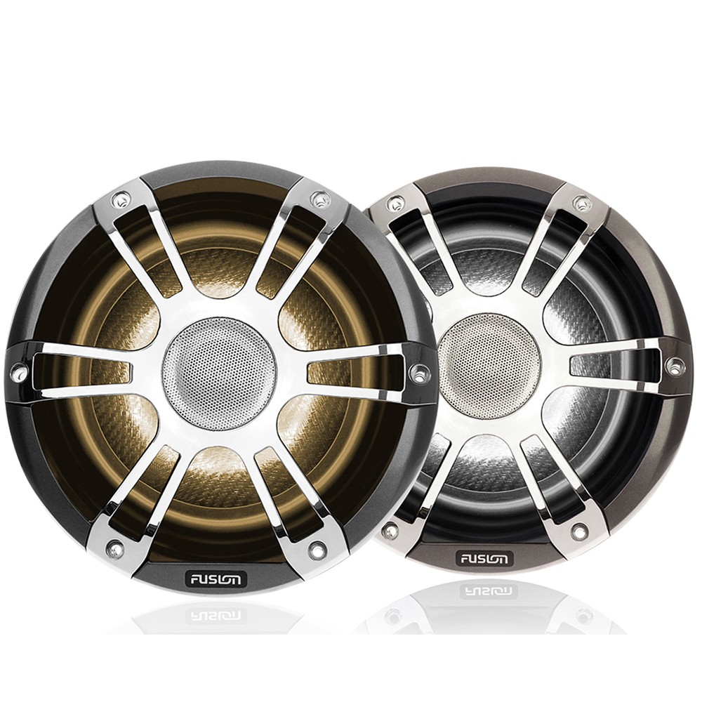 Signature Coaxial Sports Chrome Marine Speakers