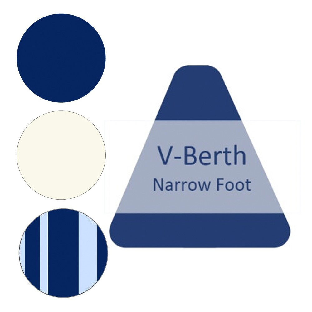 V-Berth Narrow Foot Duvet Cover