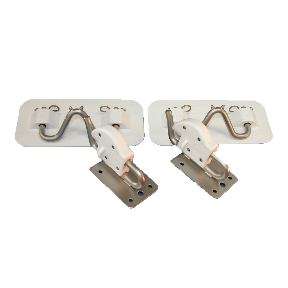 Tender Snap Davit Kit - PVC White Pads