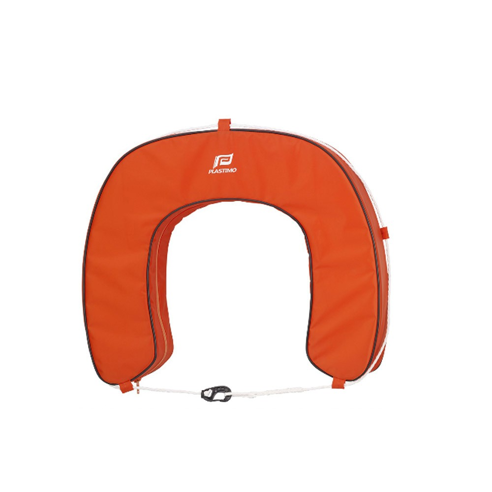 Horseshoe Lifebuoy Cover - Orange