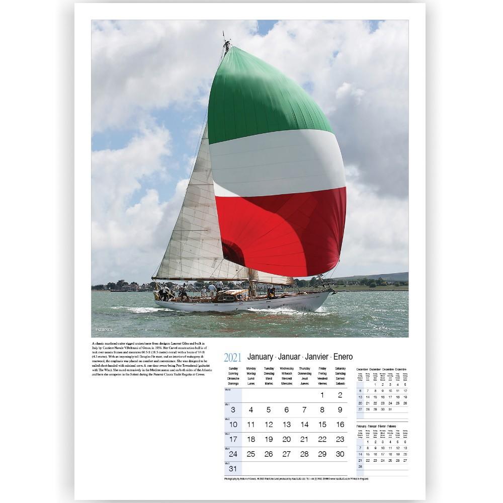 Calendar - Yachting