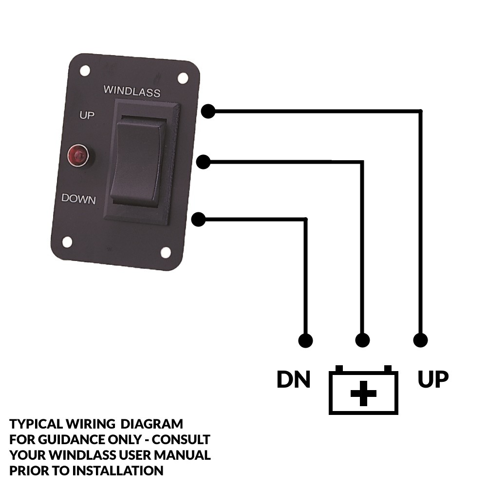 Windlass Up/Down Switch