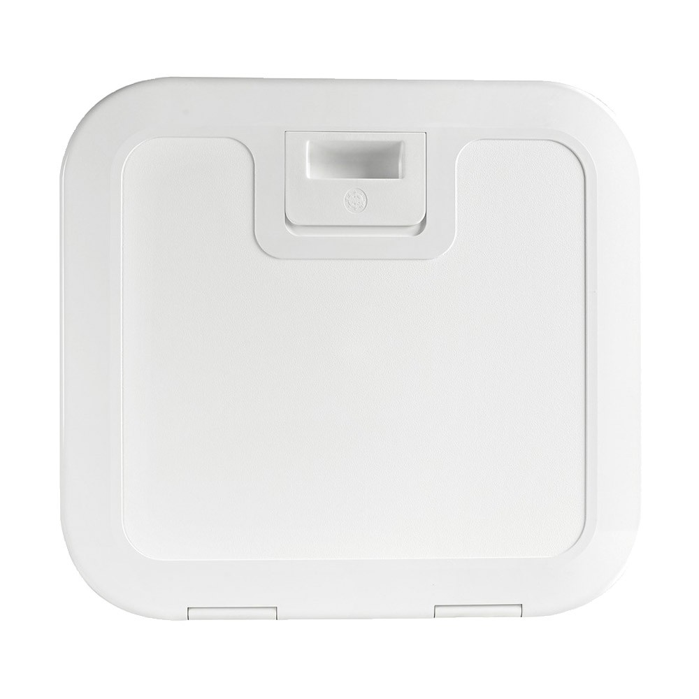 Push Pull Inspection Hatch White
