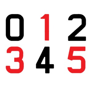 Sail Numbers - 300mm