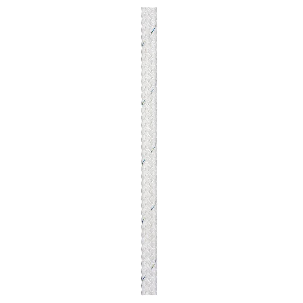 16 Plait Matt Polyester 8mm White
