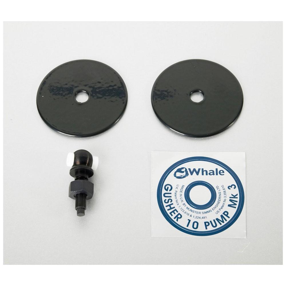 Eye Bolt/Clamp Plate Assembly - Gusher 10