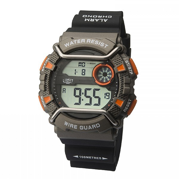 Wire Guard Digital Watch