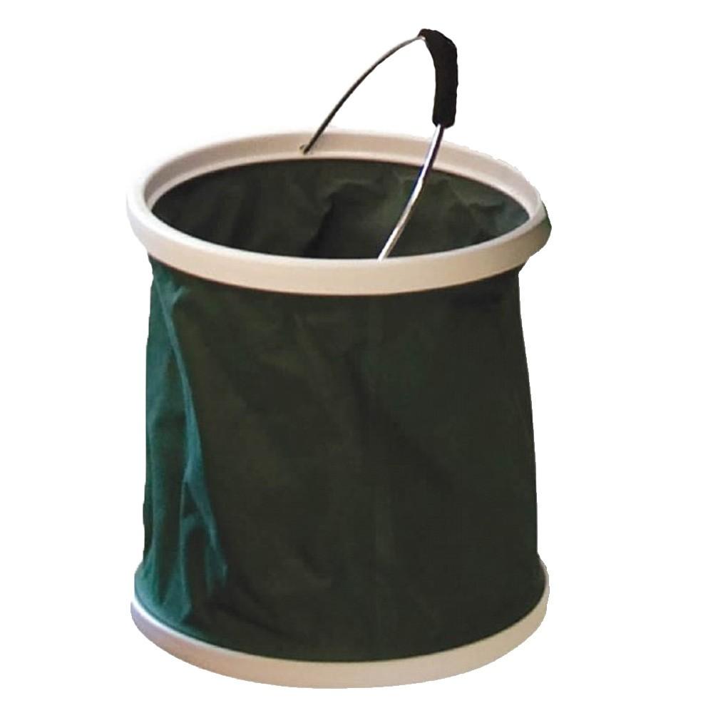 Stowaway Folding Bucket Green