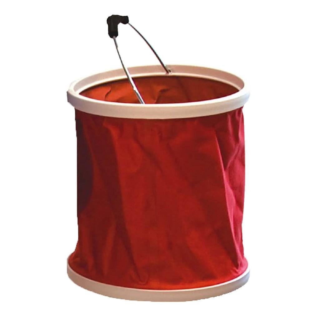 Stowaway Folding Bucket Red