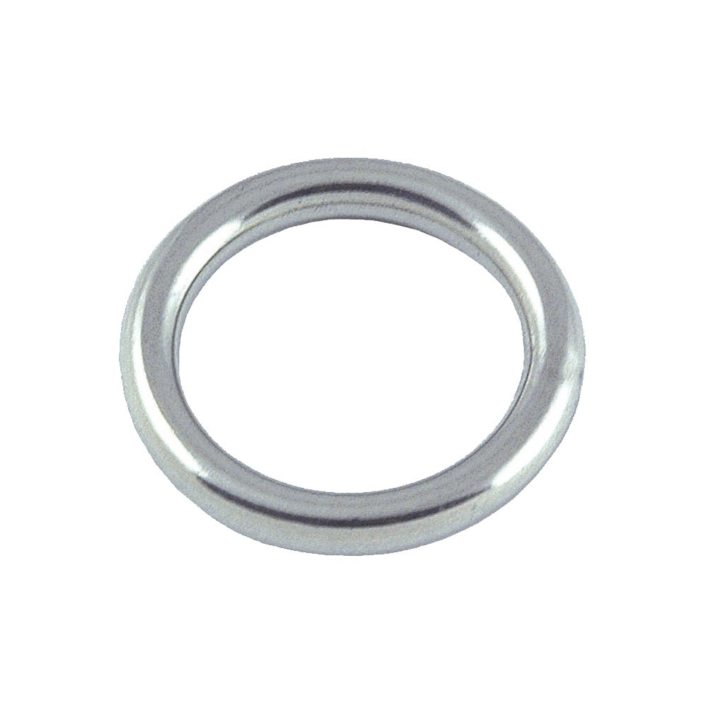 Round Ring Stainless Steel 6mm x 40mm (2pk)