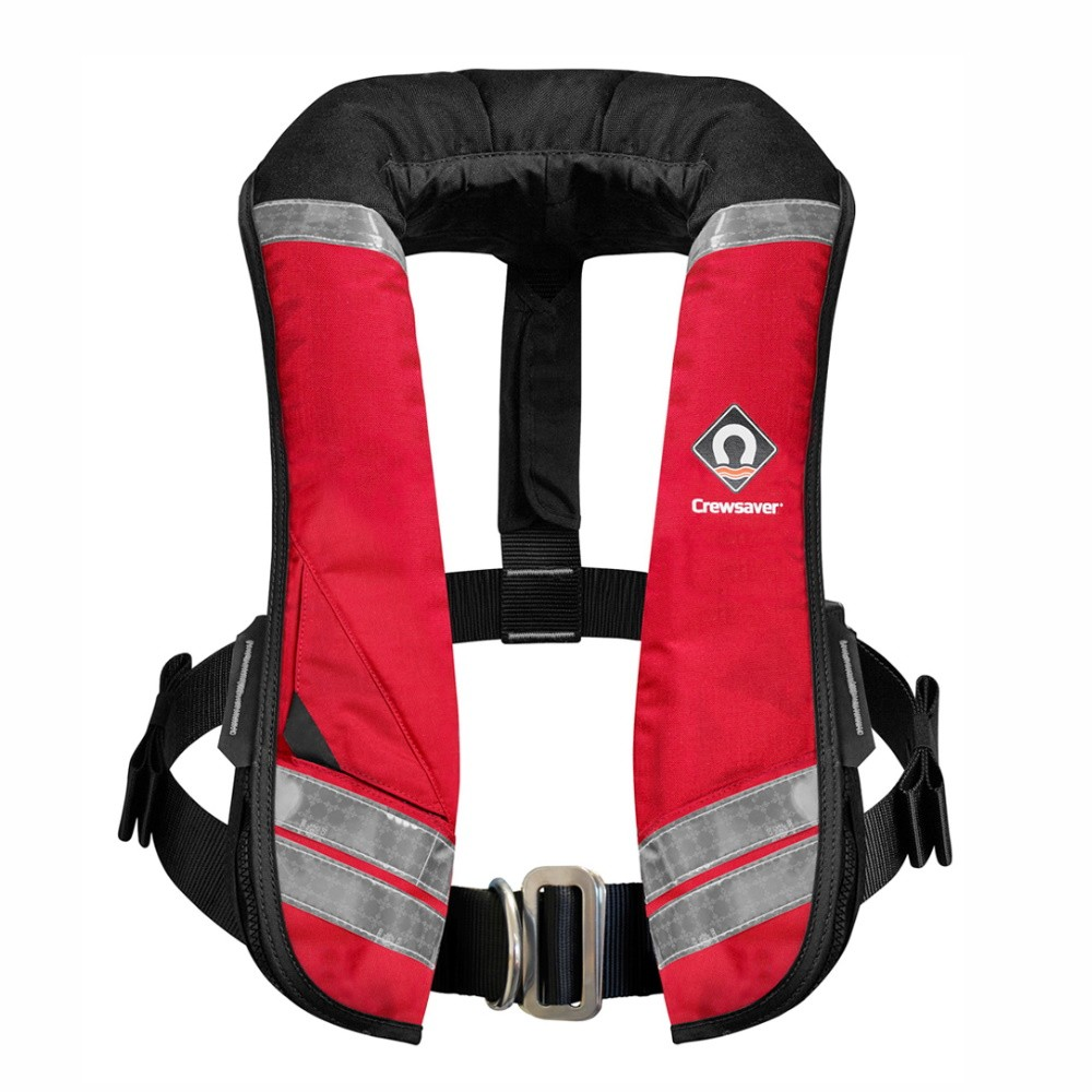 Crewfit XD 275N Auto/Harness Life Jacket Red