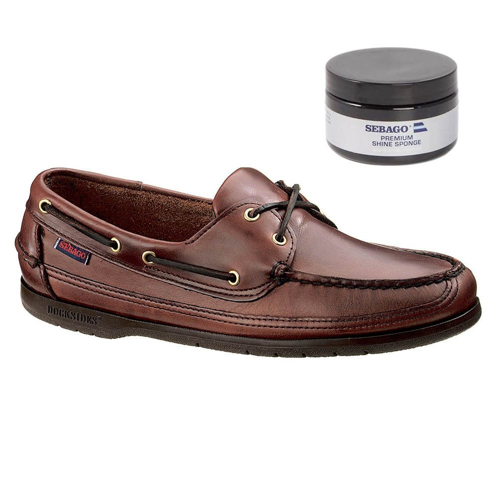 Schooner Leather Boat Shoe - Brown UK