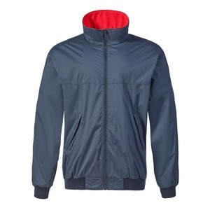 Snug Blouson Jacket Navy-Red