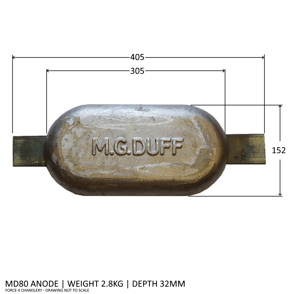 MD80 Magnesium Anode