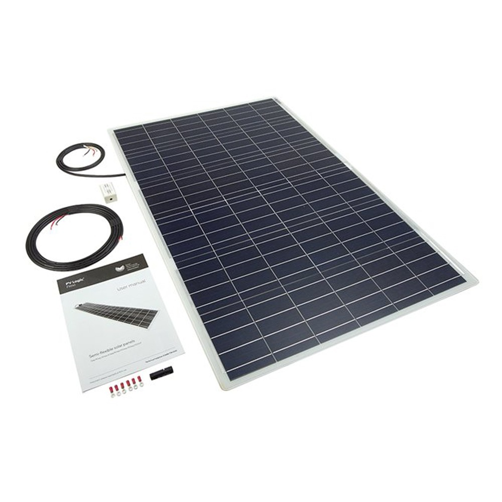 Flexi Solar Panel With Rear Cable Exit