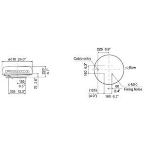 DRS4D-NXT 24 inch Solid State Doppler Radar