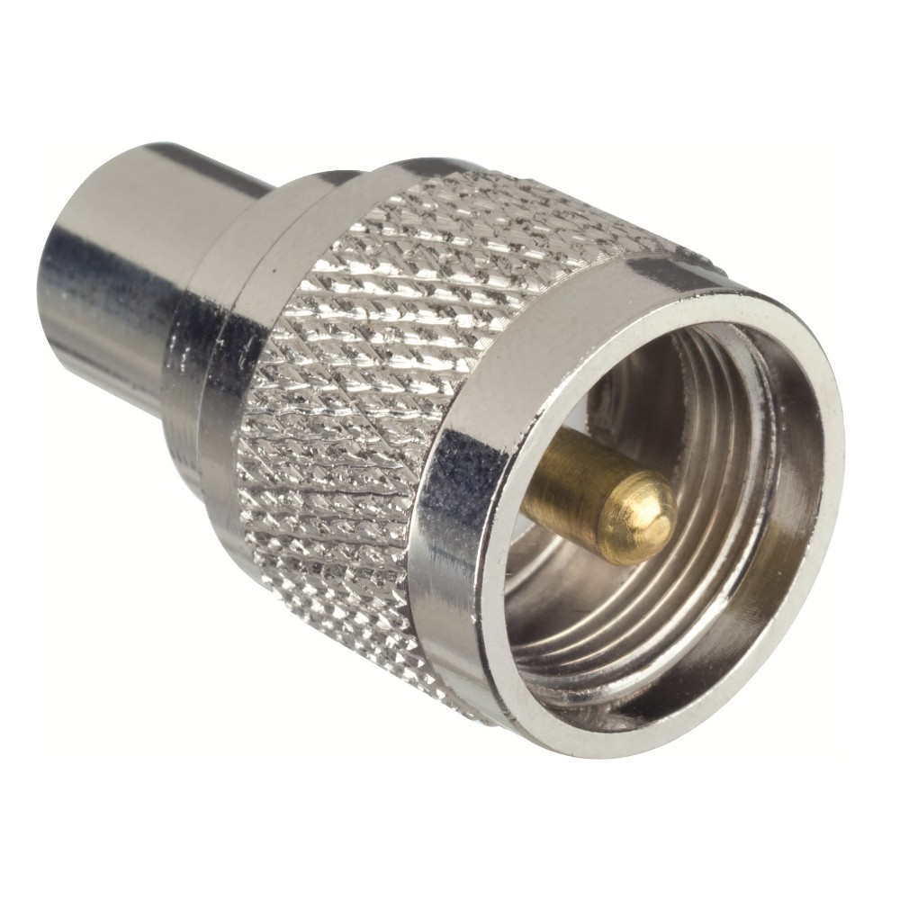 Glomeasy FME Male to PL-259 Male Adaptor