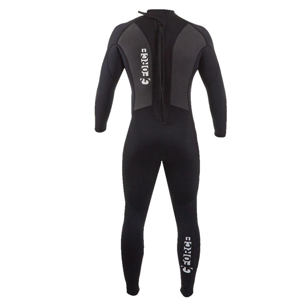 Men's G-Force Steamer 3:2 Wetsuit - Black/Black