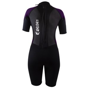 Women's G-Force Shorti 3:2 Wetsuit - Black/Mulberry