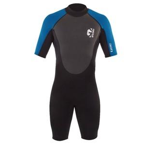 Junior G-Force Shorti 3:2 Wetsuit - Black/Blue