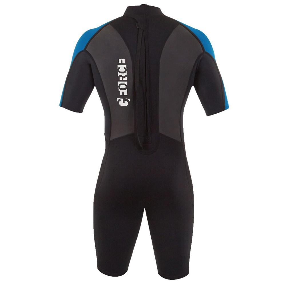 Junior G-Force Shorti 3:2 Wetsuit - Black/Blue