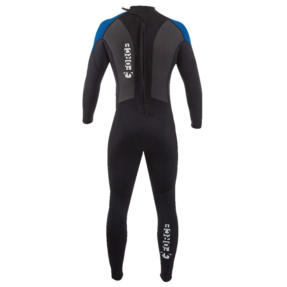 Junior G-Force Steamer 3:2 Wetsuit - Black/Blue