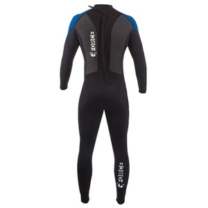 Junior G-Force Steamer 3:2 Wetsuit - Black/Blue
