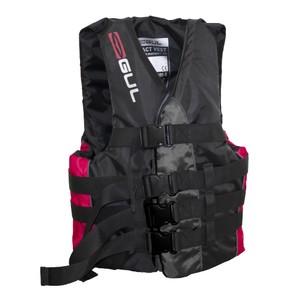 Impact Ski Vest - Black/Red