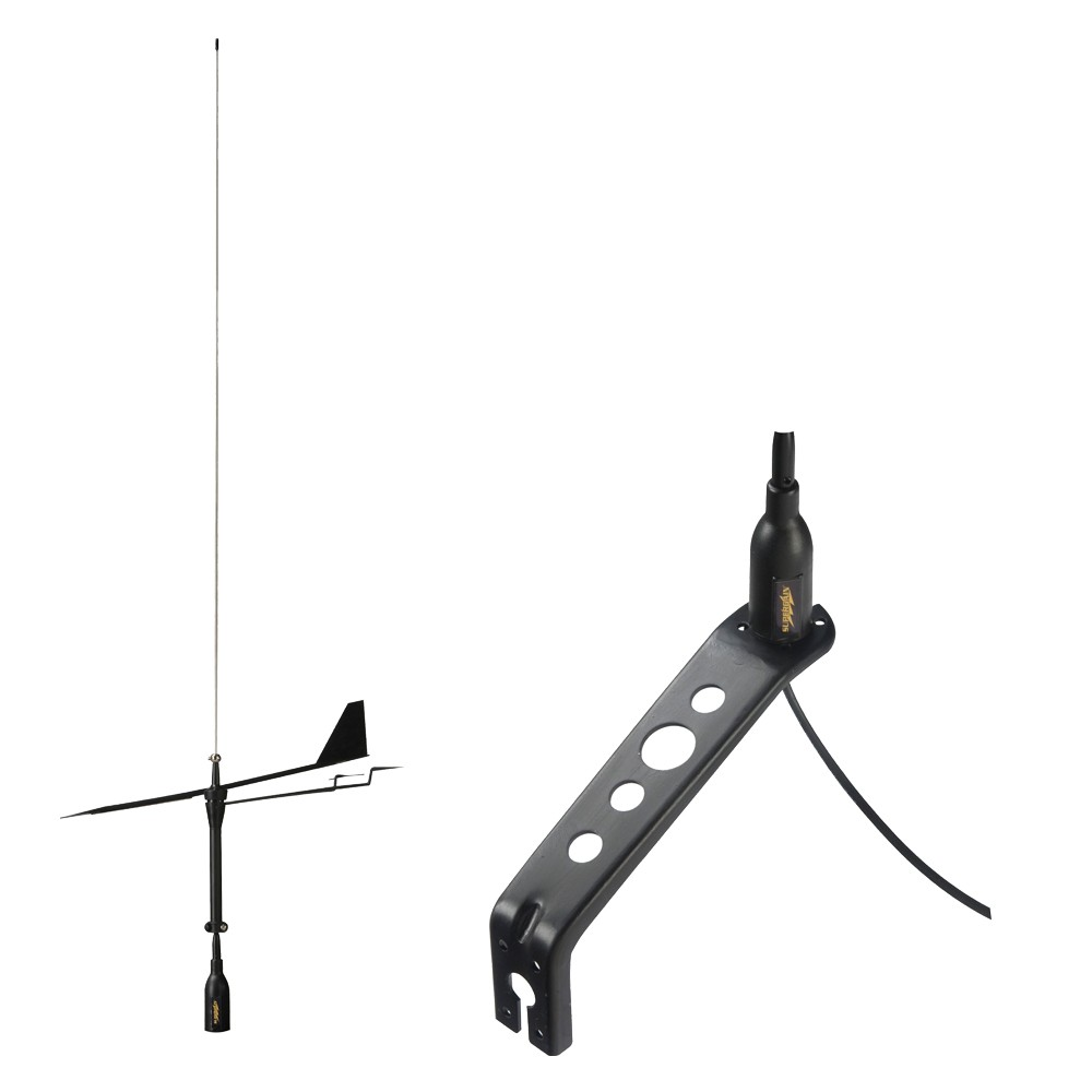 Black Swan 850mm VHF Antenna with Wind Indicator