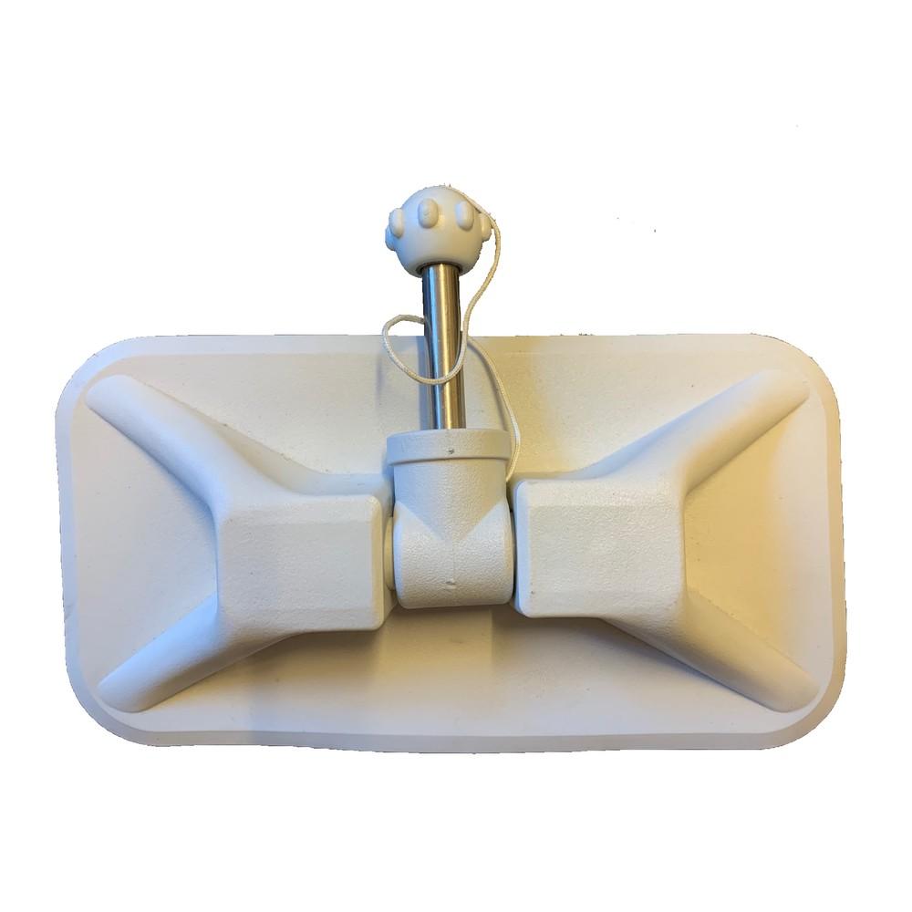 PVC Rowlock Block with Pin