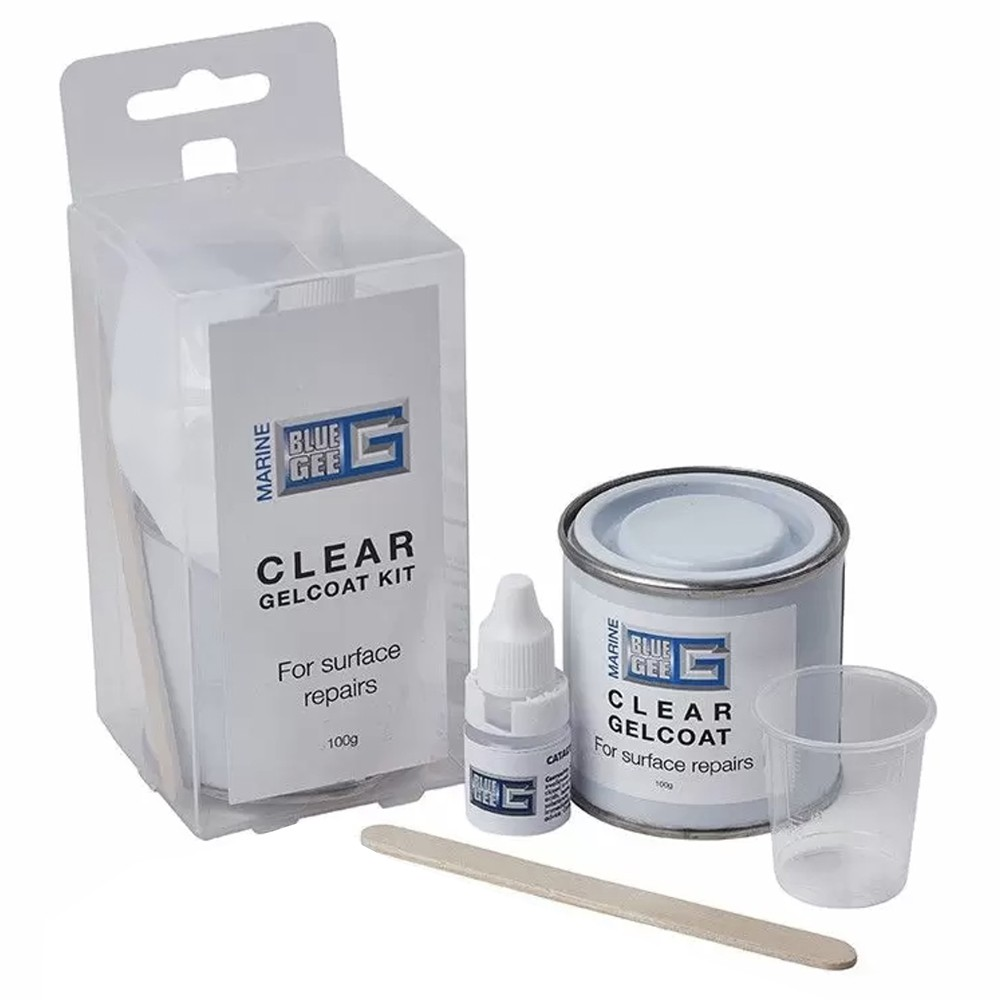 Clear Gelcoat Repair Pack 100ml