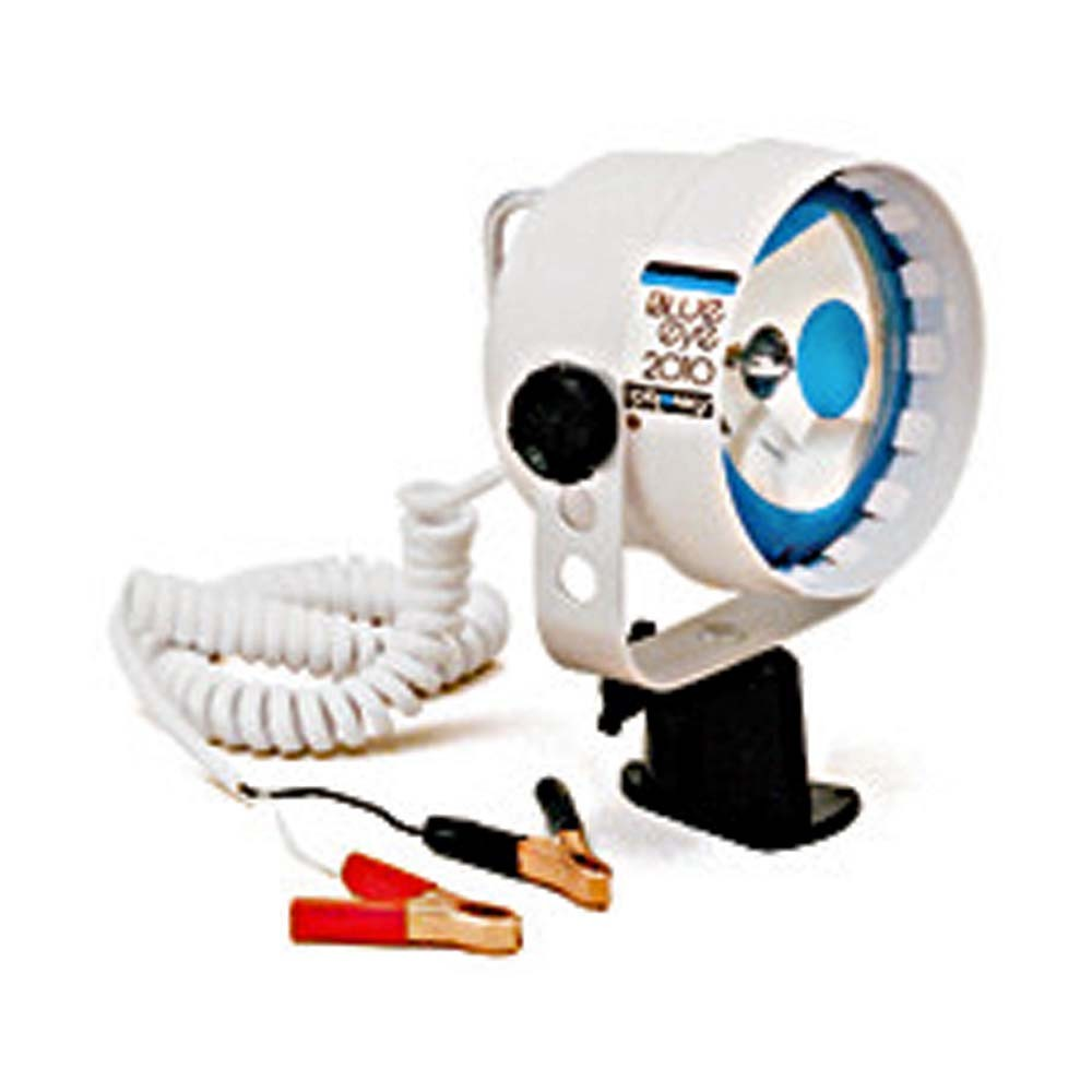 Blue Eye Beam Fixed Base Spotlight (Crocodile Clips)