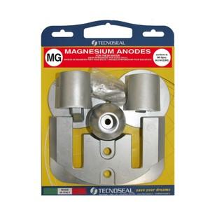 Engine Anode Kit Magnesium - Mercury Bravo 3 (2004)