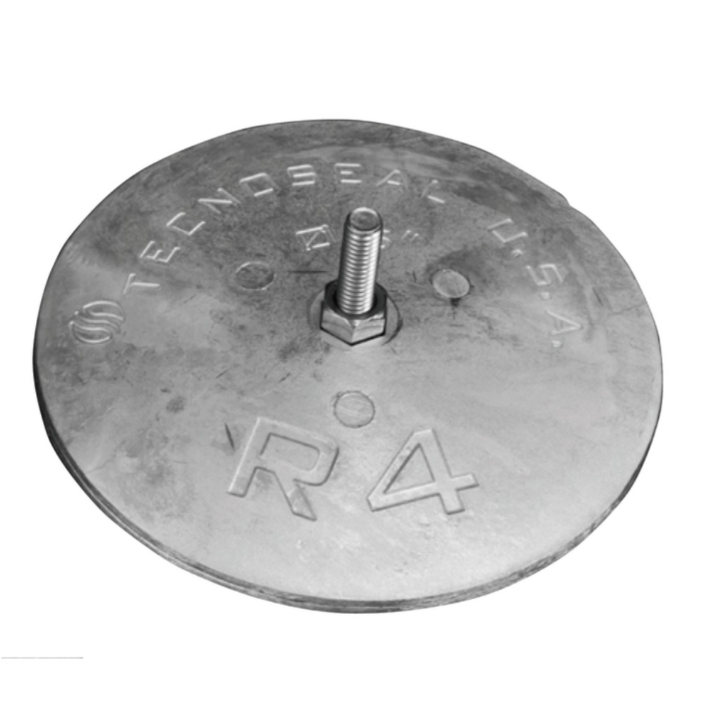 Disc Anode (pair) for Rudder 127mm - Magnesium