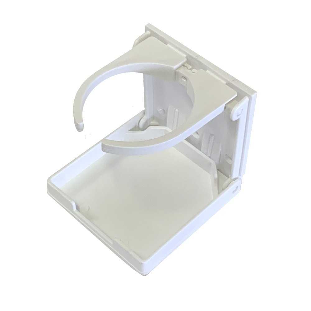 Folding Cup Holder - White
