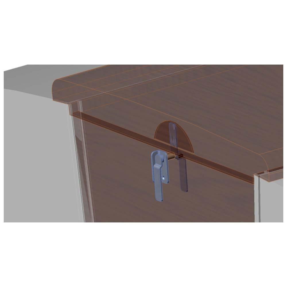 Washboard Hatch Lock