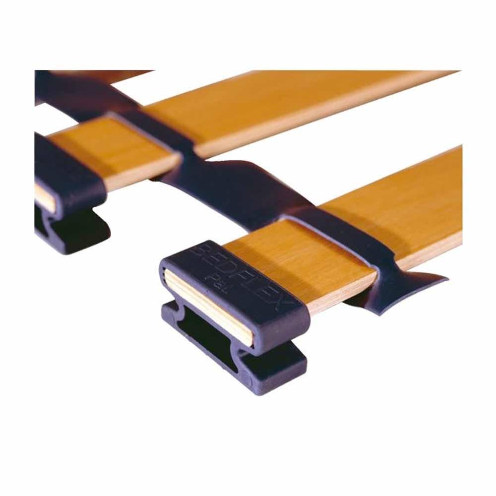 Bed Flex End Rubber Support Blue 8+10mm