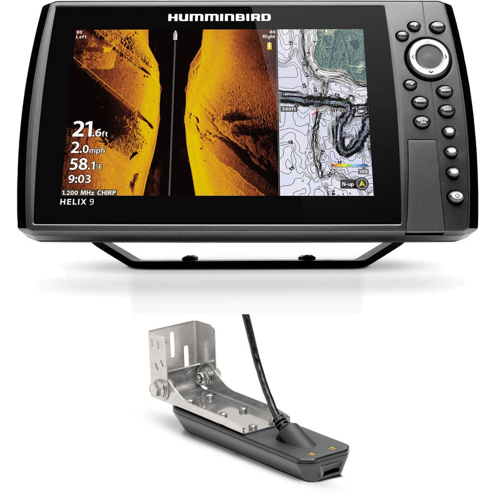 Helix Chirp Mega SI+ GPS G4N Fishfinder Chartplotter Combo