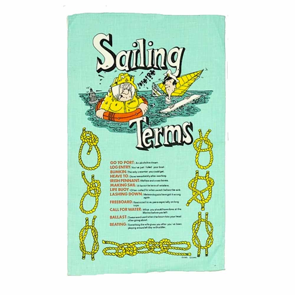 Galley Cloth - Sailing Terms